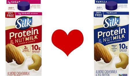 protein nut milk silk protein nutmilk review pea protein non dairy milk