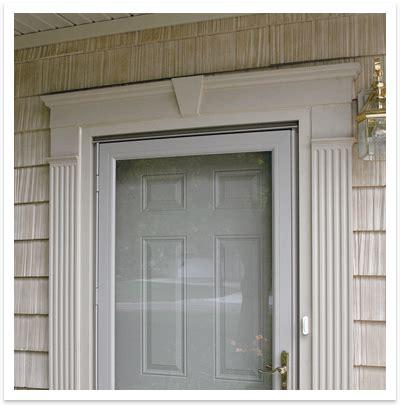 Exterior Door Header Exterior Window Headers And Pilasters Door Surrounds Outdoors Pinterest