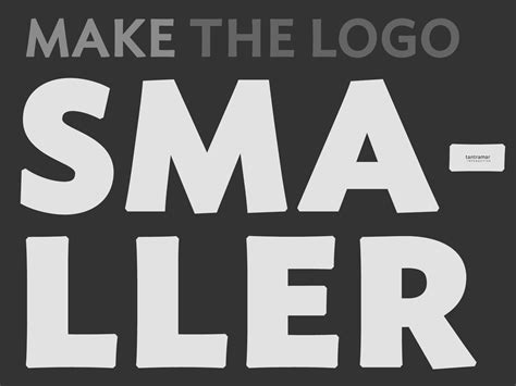 Make The Logo Smaller Tantramar Interactive Inc