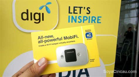 Portable Wifi Digi digi offers malaysia s 4g lte a broadband with 100gb of quota soyacincau