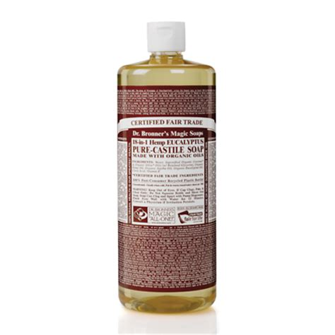 Murah Dr Bronner S Castile Liquid Soap Eucalyptus 473 Ml dr bronner s organic eucalyptus castile liquid soap 946ml feelunique