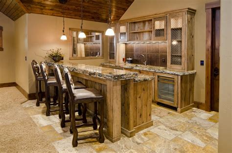 rustic basement bar 37 home bar designs and