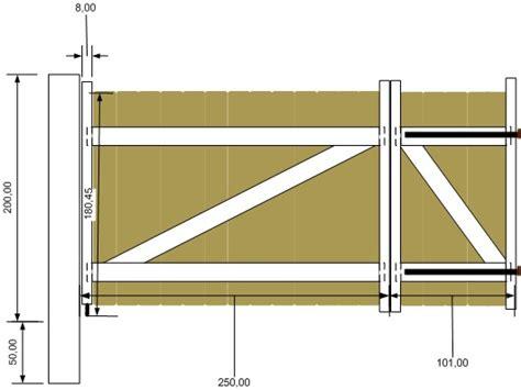 Fabriquer Un Portail En Bois 3577 by Bricolage Menuiserie Conseils Fabrication D Un Portail