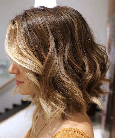 long bobs and highlights long bob with highlights around face hair pinterest
