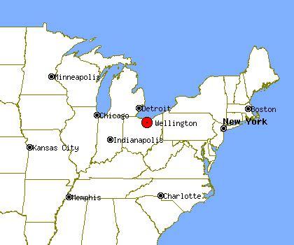 wellington ohio map wellington profile wellington oh population crime map