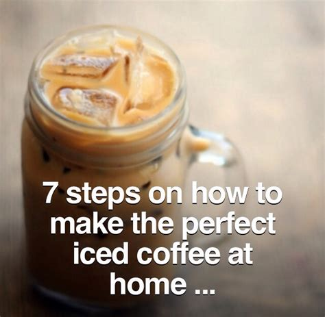 7 ways to make the iced coffee at home trusper