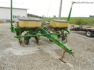 deere 7000 4 row corn planter planting seeding