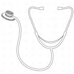 Stethoscope Drawing 835 Download Royalty Free Vector Clipart EPS sketch template