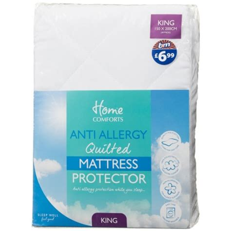 Allergy And Mattress by B M Anti Allergy Mattress Protector King 261940 B M