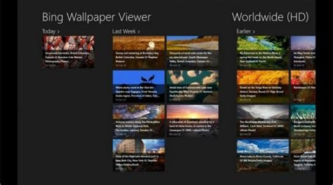 bing wallpaper windows phone 8 bing wallpaper viewer app windows 8 per vedere gli