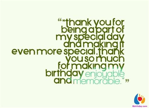 Thank You Quotes For Birthday Wishes 28 Beautiful Birthday Thank You Wishes And Messages With