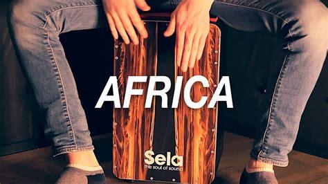 cajon how to play cajon lesson how to play africa on cajon toto youtube