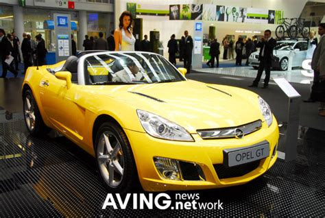 Opel Sports Car by Opel To Showcase Its Convertible Sports Car Opel Gt