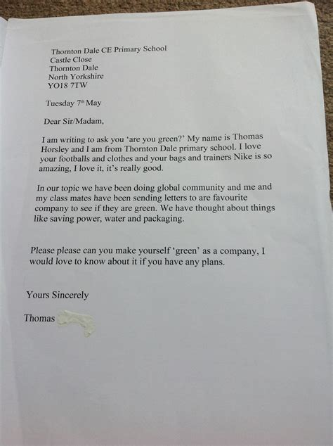 persuasive letter persuasive writing thornton dale school
