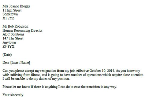 Resignation Letter Format Doc Due To Health Problem Post Reply