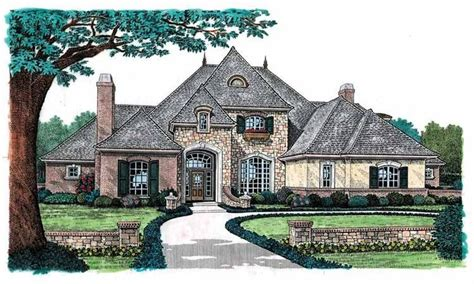 eplans chateau house plan dazzling and majestic european