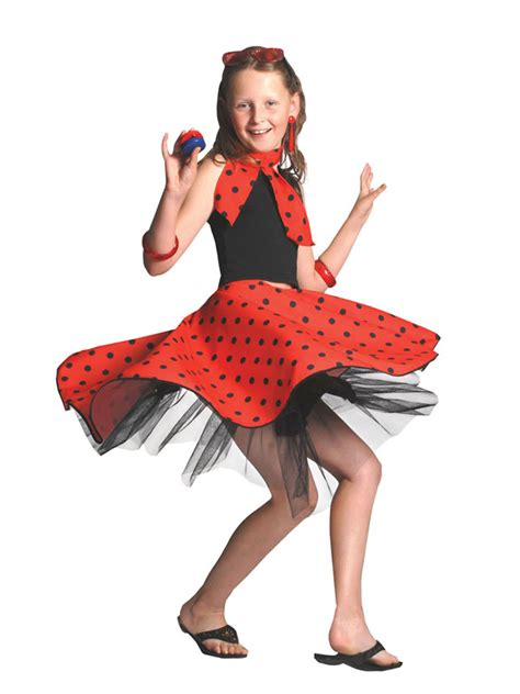red rock n roll skirt 50s dance lindy hop jive fancy dress