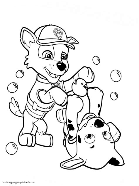 printable coloring pages for paw patrol paw patrol coloring sheets printable