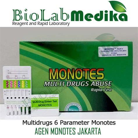 Alat Tes Urine 6p Monotes Jual Rapid Test Narkoba Monotes Murah Biolab Medika