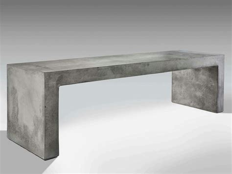 cement bench panca by lucifero s