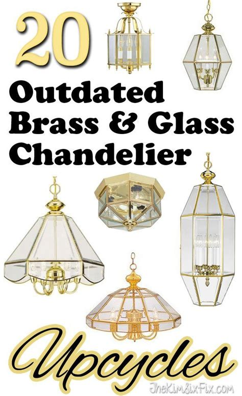 Brass Chandeliers Outdated 232 best images about cool diy light fixtures on