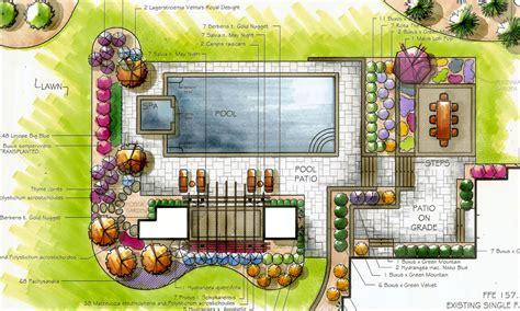 landscape design square garden draft pinterest