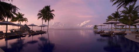 conrad maldives rengali island maldives infinity pools