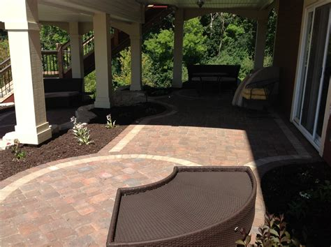 Patio Pavers Kingston Groundwrx Landscape Hardscape Design Rosemount Mn
