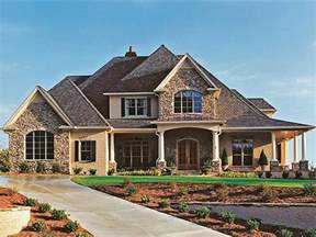 new american house plan with 3187 square feet and 4