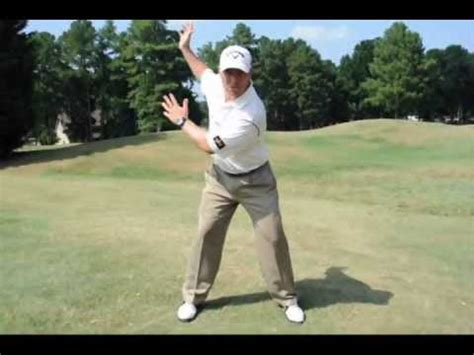 golf swing separation the wall drill by grexa golf instruction doovi