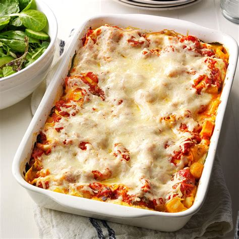 Todays Special Mexican Style Lasagna by Butternut Portobello Lasagna Recipe Taste Of Home