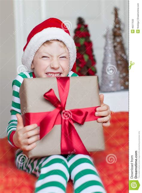 images of christmas excitement kid at christmas stock photo image of green adorable