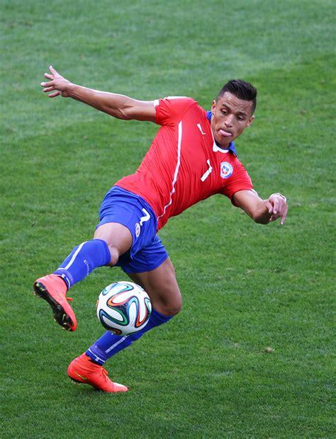 Alexis Sanchez Fifa | brazil v chile round of 16 2014 fifa world cup brazil