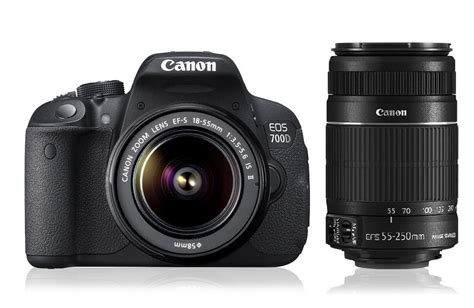 Kamera Canon Dslr Eos 700d canon eos 700d zoom dslr with ef s18 55 is