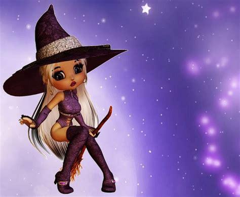 purple light witch holidays