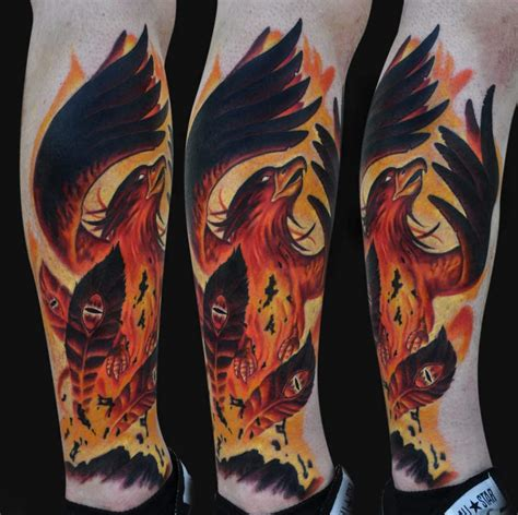 phoenix rising tattoo design rising tattoos