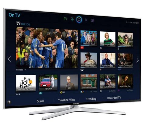 Tv Samsung Hd 48 Inch buy samsung ue48h6400 smart 3d 48 quot led tv free delivery currys
