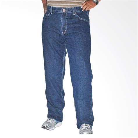 Basic Celana Panjang Wanita jual 2ndred big size basic 114193 indigo blue celana