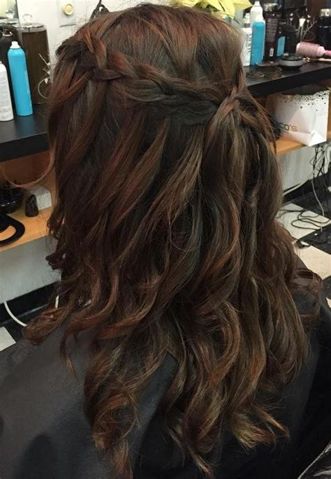 Waterfall Hairstyles by 20 Gorgeous Waterfall Hairstyles Hair Style