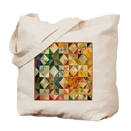 Patchwork Quilt Bags - patchwork quilt tote bag by nansphotoart