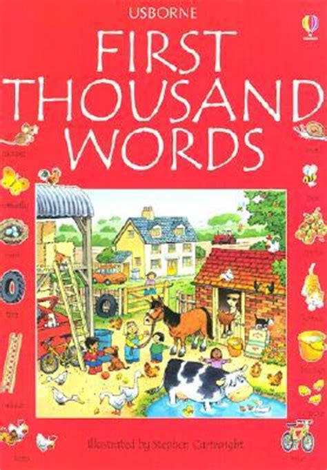 first thousand words in first thousand words in english by heather amery