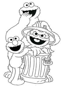 free coloring pages sesame street faces