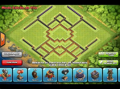 th10 layout new update layout th10 farm new update 275 walls layout cv