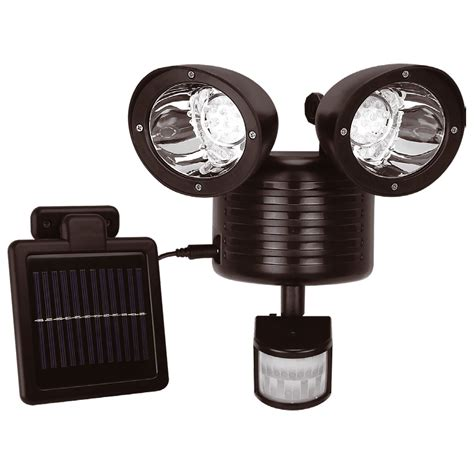 solar powered motion detector lights solar power wireless pir motion sensor security shed wall