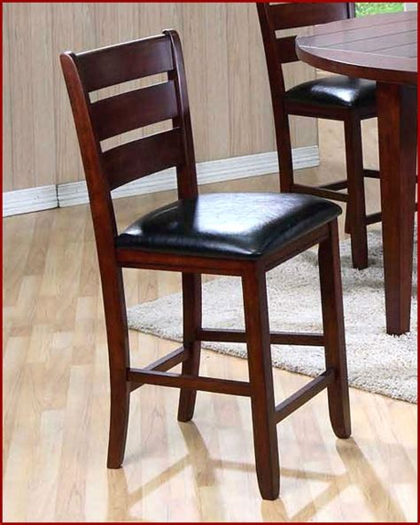 Upholstered Pub Chairs Upholstered Pub Chair Set Of 2 Mo 4540ch