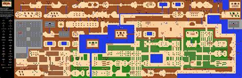Legend Of Zelda Map Quest 2 Overworld | the legend of zelda overworld quest 2 map