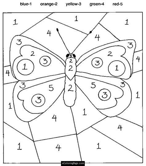 color by number pages and other educational worksheets lesson plan ideas coloring pages color by numbers butterfly coloring pages