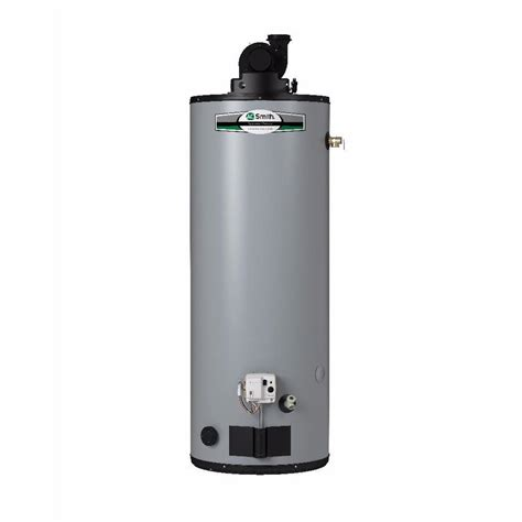 Water Heater Gas shop a o smith signature premier 40 gallon 6 year limited 50000 btu gas water