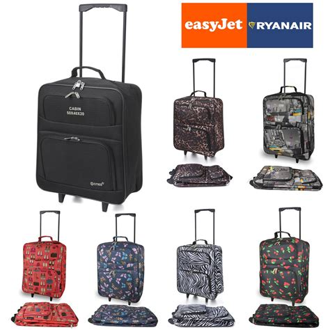 Cabin Luggage Dimensions Easyjet by Easyjet Ryanair Foldable Luggage Wheeled Travel Cabin