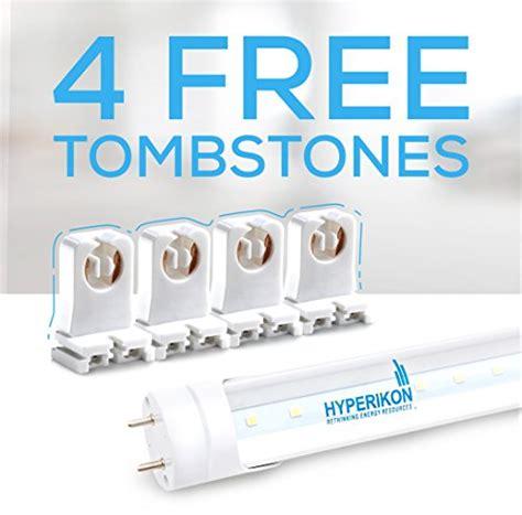 hyperikon led shop light 4 pack of hyperikon t8 led shop light 4ft 18w 40w